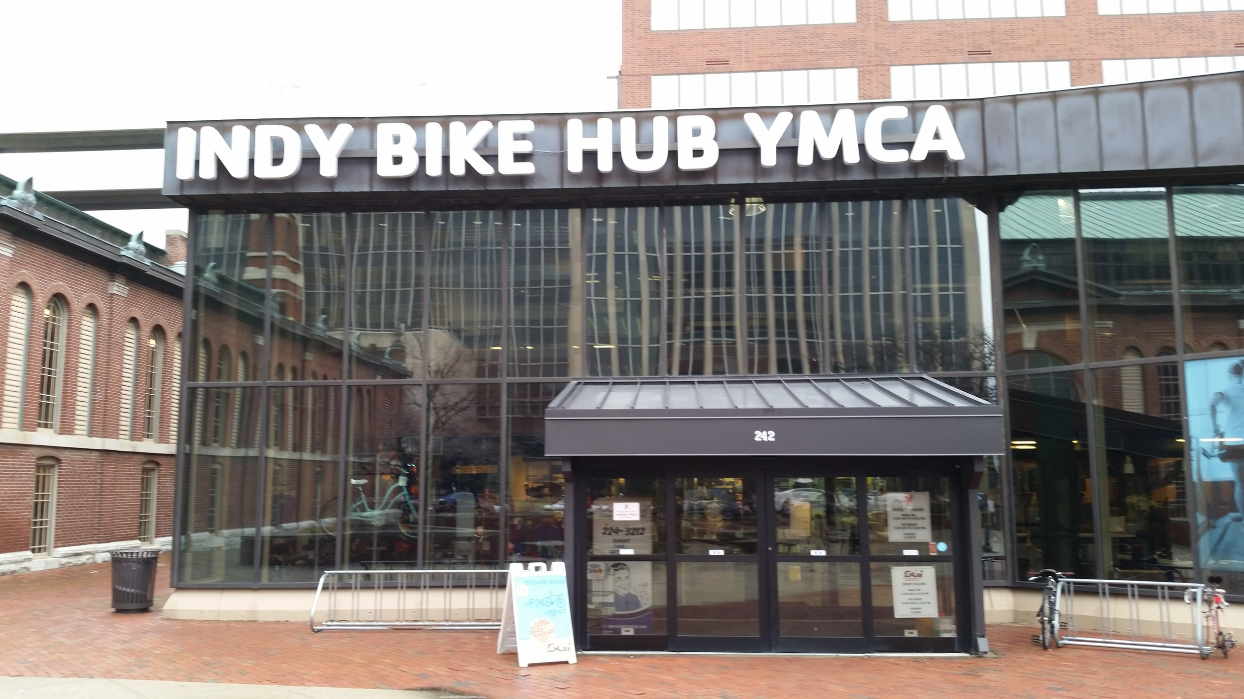 Bike hub research took us to Indianapolis for the day!