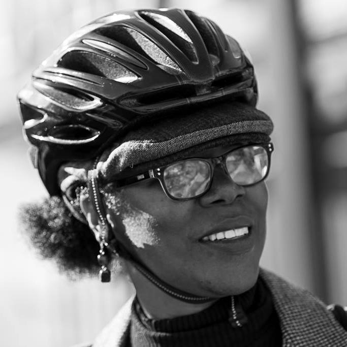 Despite being a little intimidated by what she perceived as the biking culture, Shyra jumped into bicycling and is passionate about sharing her enthusiasm with others.
