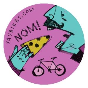 August's button, courtesy artist Thom Glick
