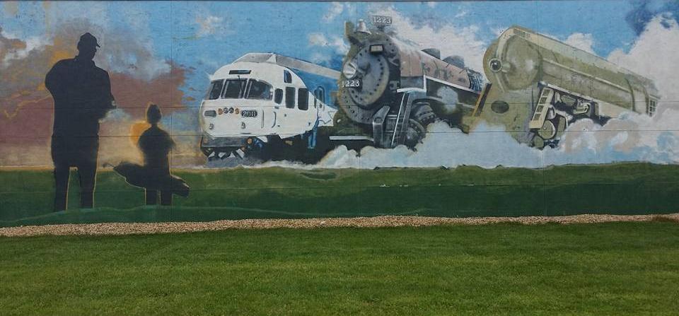 The Golf Depot mural