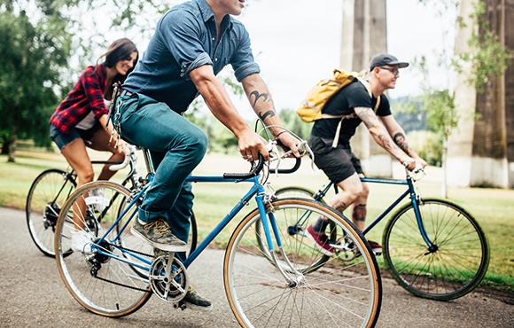 Yep. Cyclists.