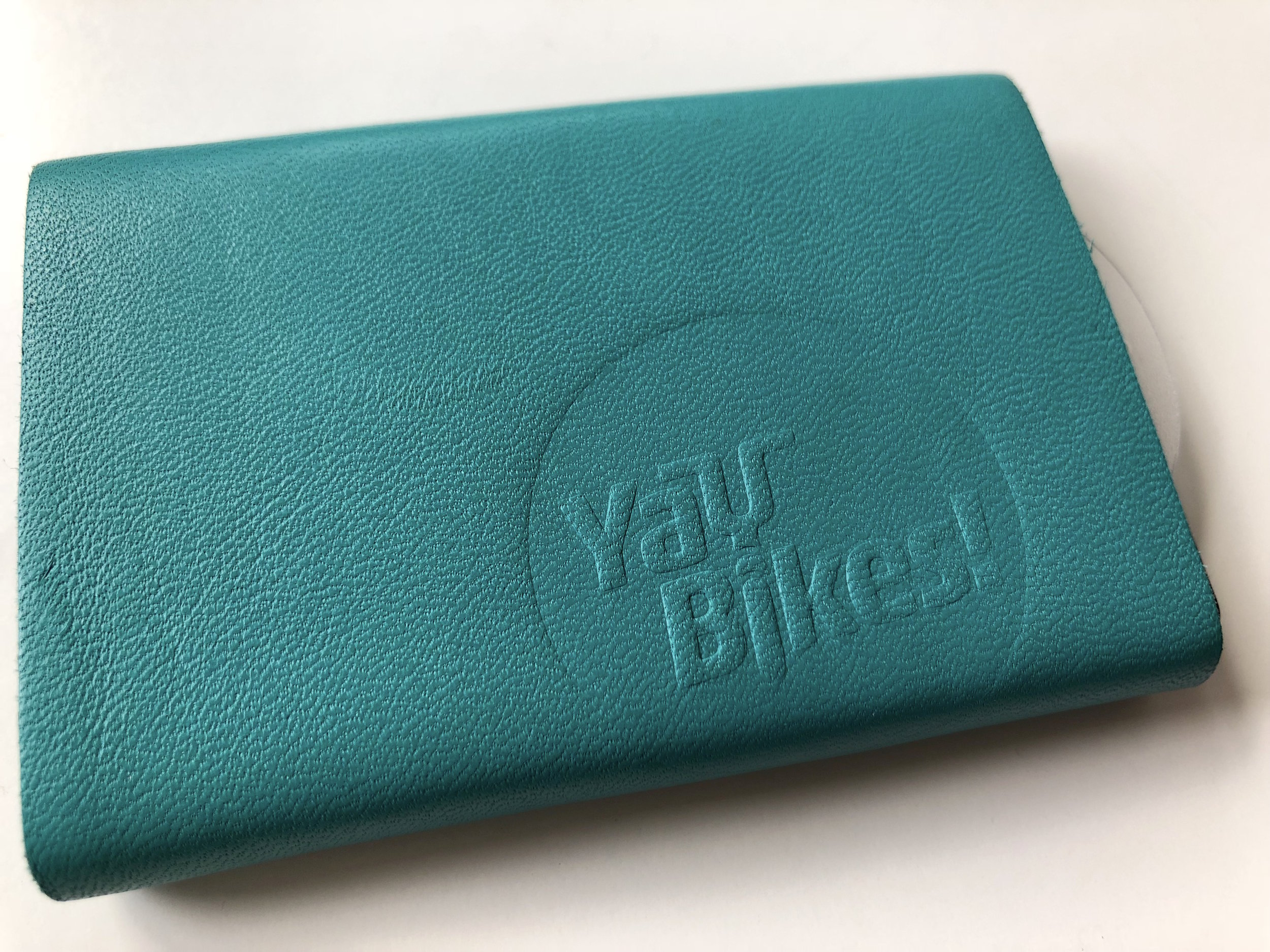 Buy a wallet with the Yay Bikes! logo—leather color and style of your choice—and Paul will donate $10 to Yay Bikes!