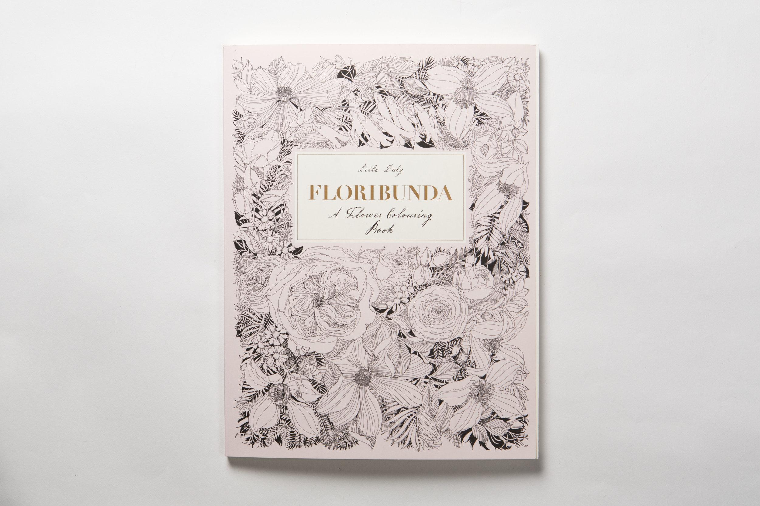 Bestselling Floribunda Colouring Book Published by Laurence King