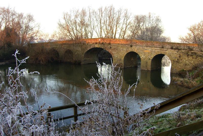 Old Bridge, Pershore Worcs