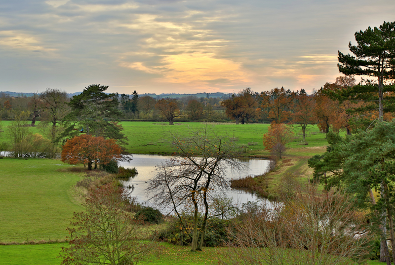 Croome Court Gardens by Capability Brown, Worcs.