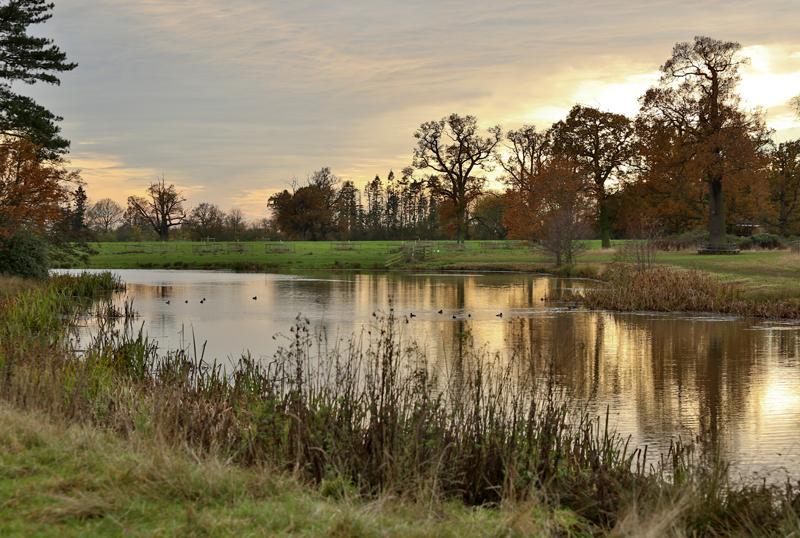 Croome Court Gardens by Capability Brown,Worcs.