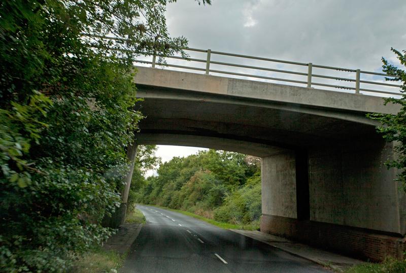Motorway Bridge, Longdon, Worcs.