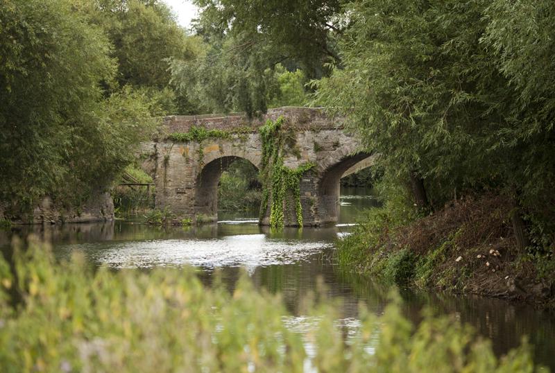 Old Bridge, Pershore, Worcs.