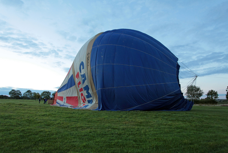 Hot Air balloons, Defford, Worcs.