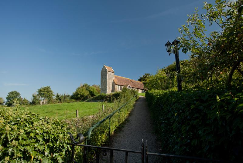 Hill Croome Church, Worcs.