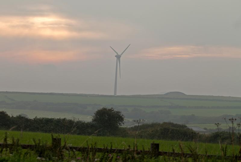 Wind turbine, Cornwall