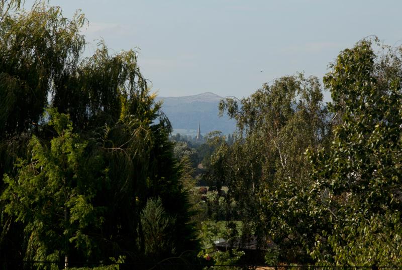Malvern Hills from Hill Croome, Worcs.