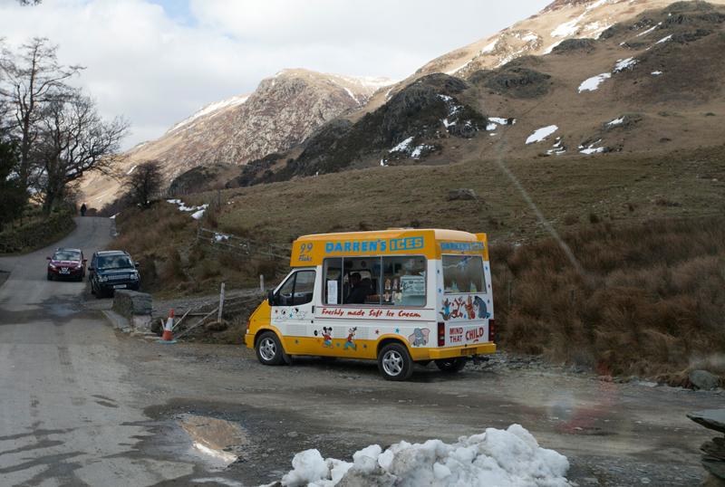 Ice Cream man, Yorkshire!