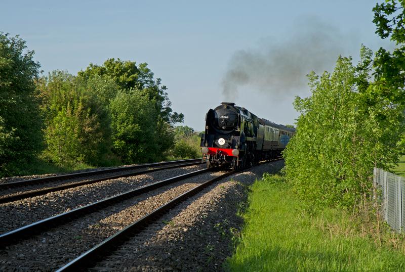 Steam Train, Malvern, Worcs.
