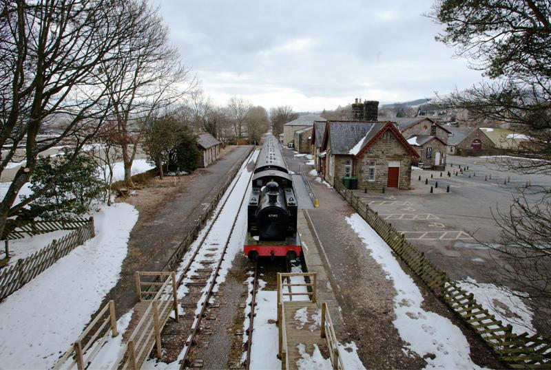 Old Hawes Railway Station, Yorkshire