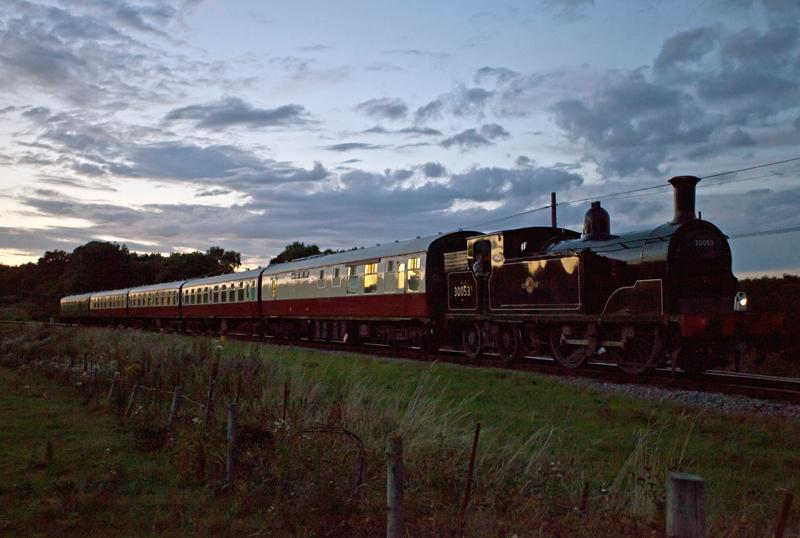 Steam Train, Corfe, Dorset