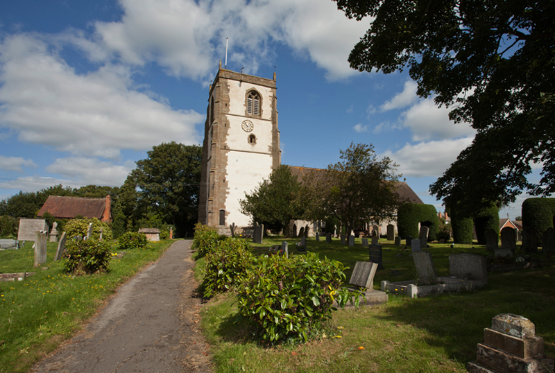 St Kenelm Church, Upton Snodsbury, Worcs.
