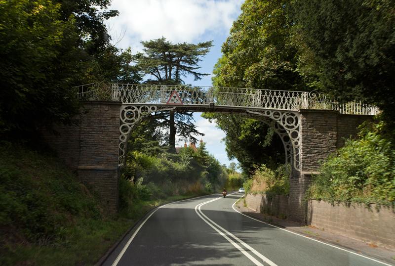 Foot Bridge, Longdon, Glos.
