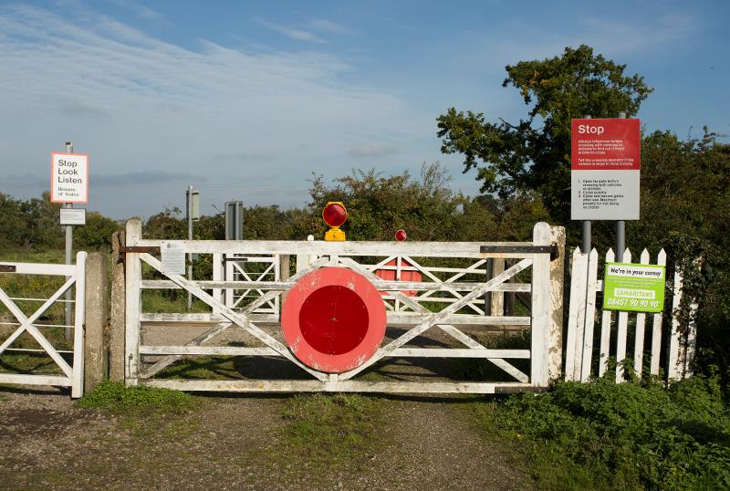 Railway Crossing, Norfolk