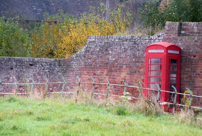 Phone box, Earl's Croome, Worcs.