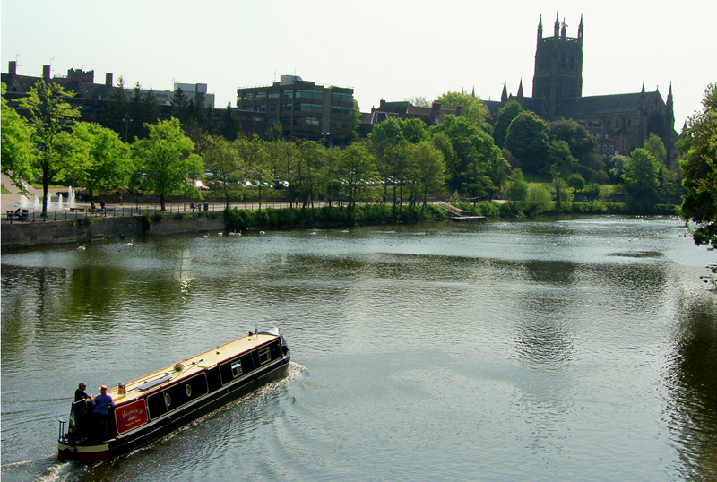 River Severn & Worcester Cathedral