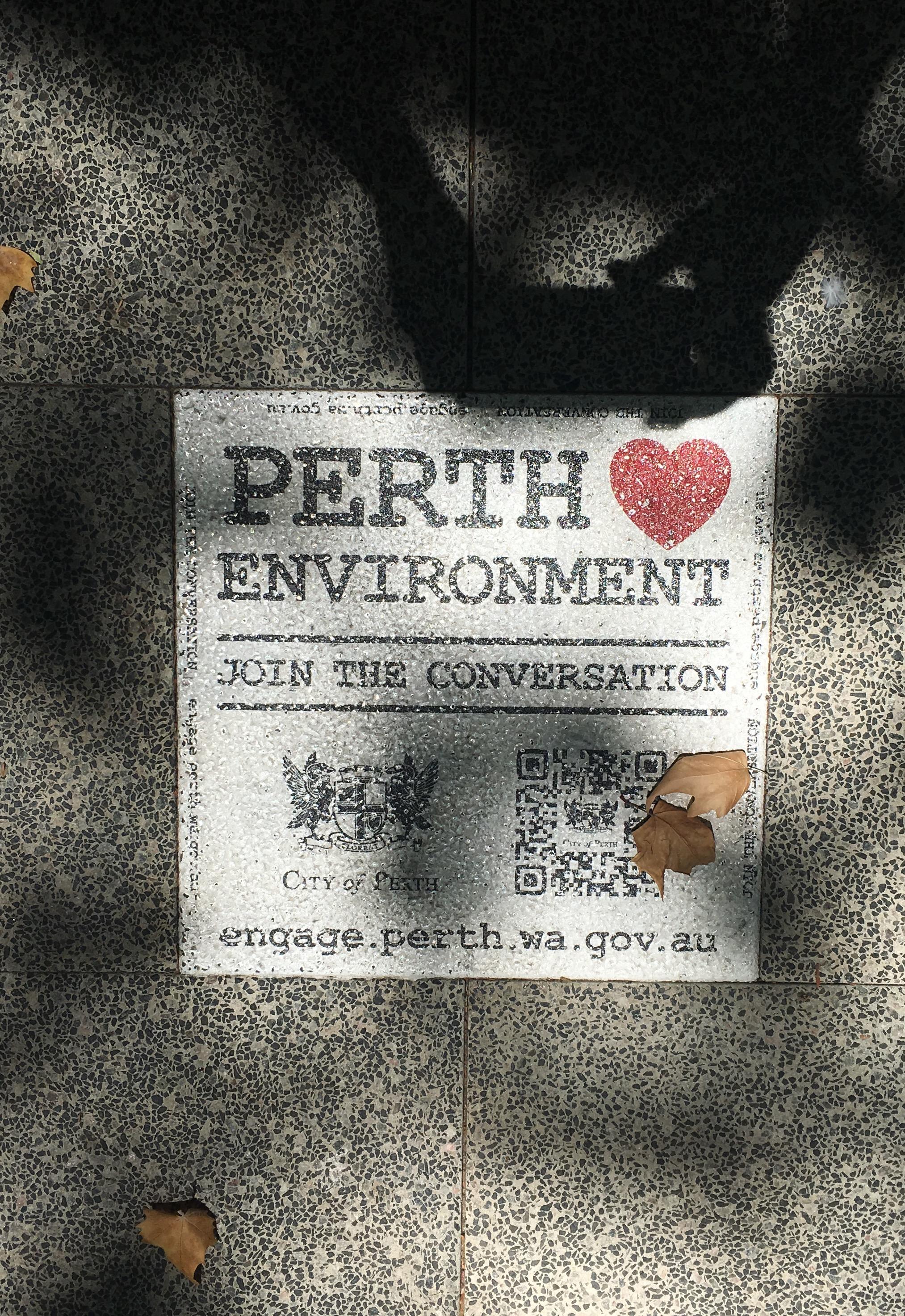 Pavement advertising :)