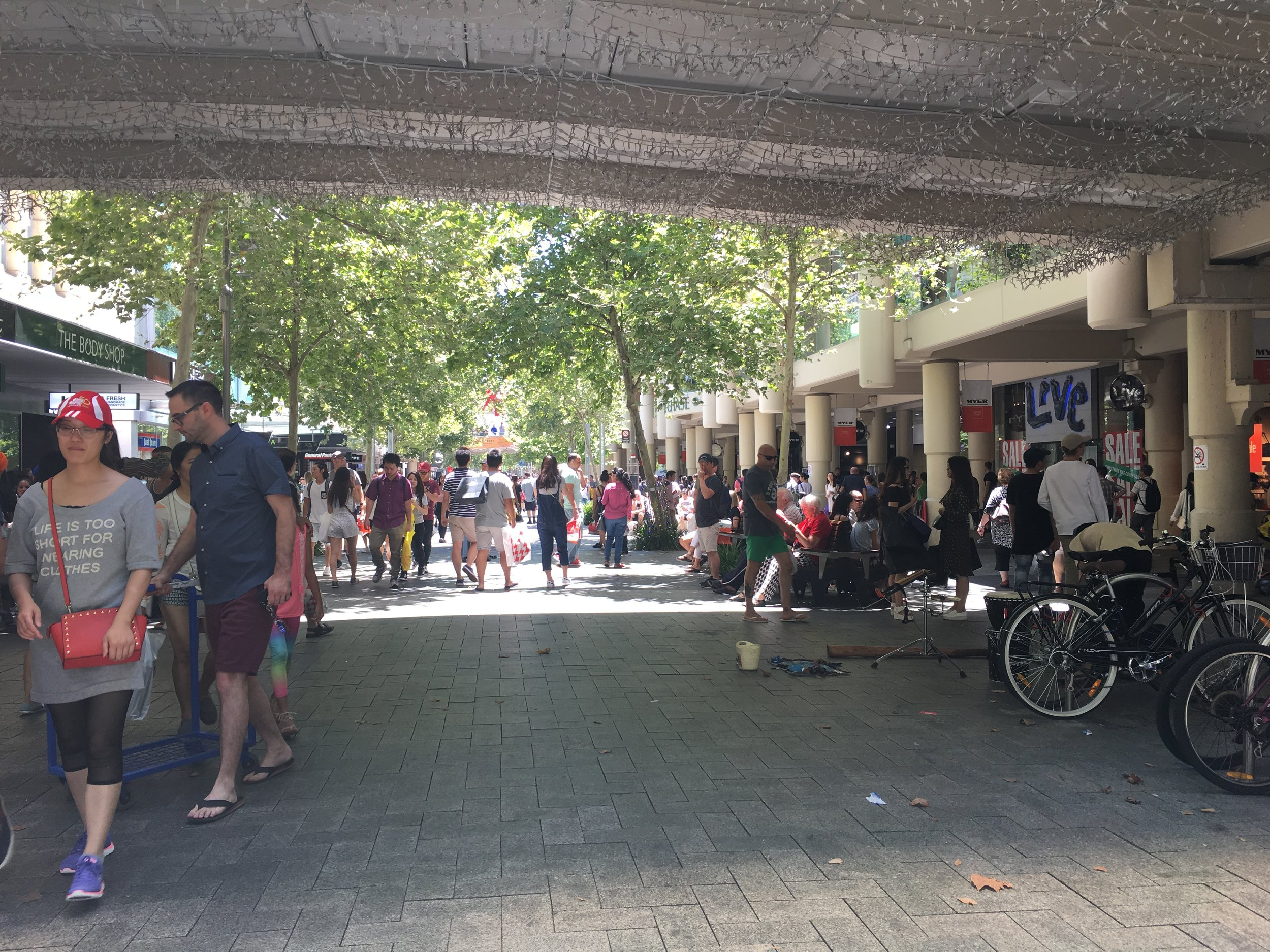 Busy Boxing Day in Perth