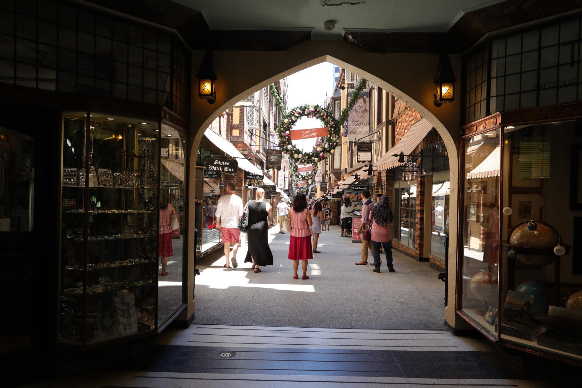 Old London Street Perth CBD