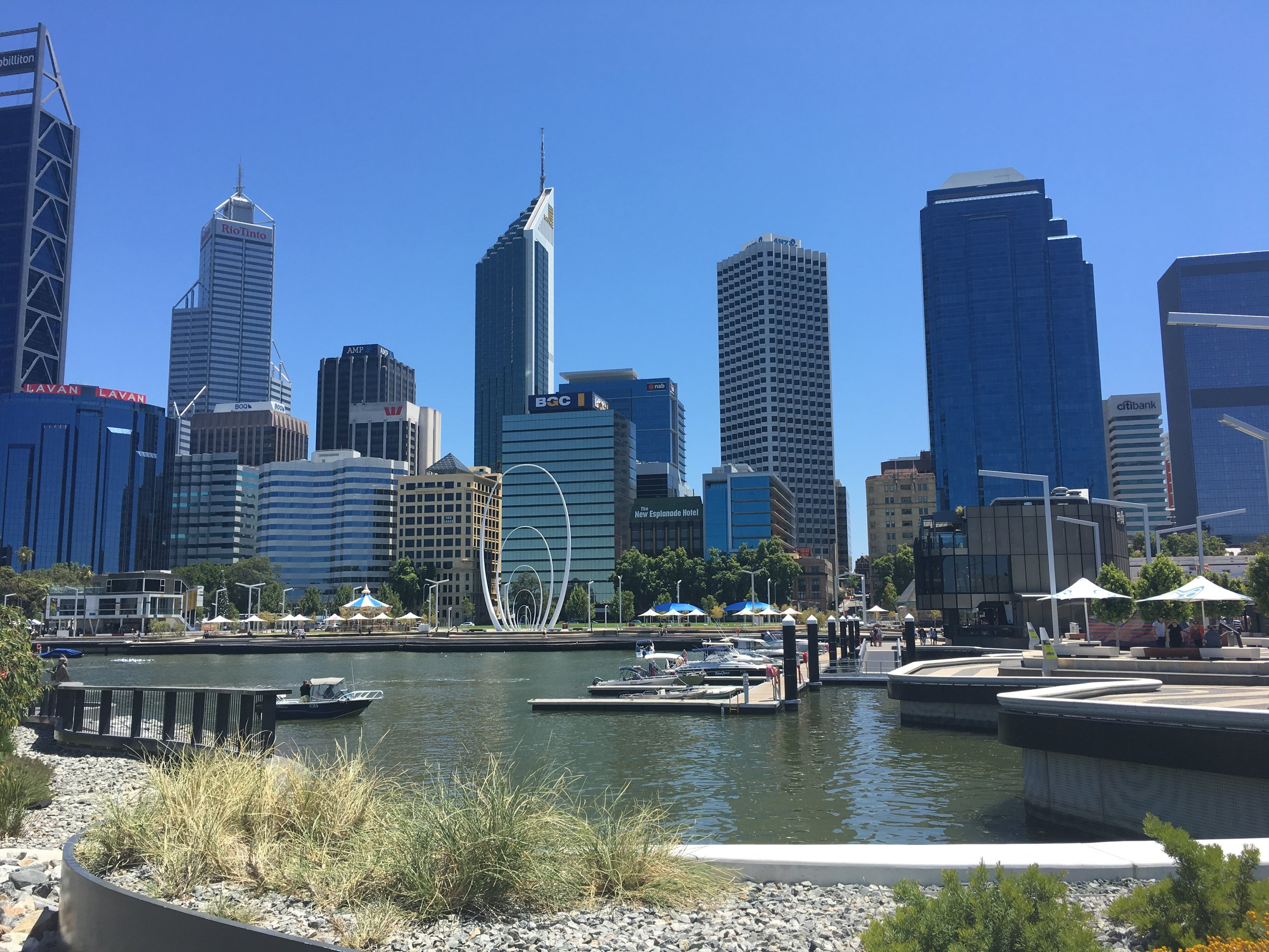 Day out in Perth city