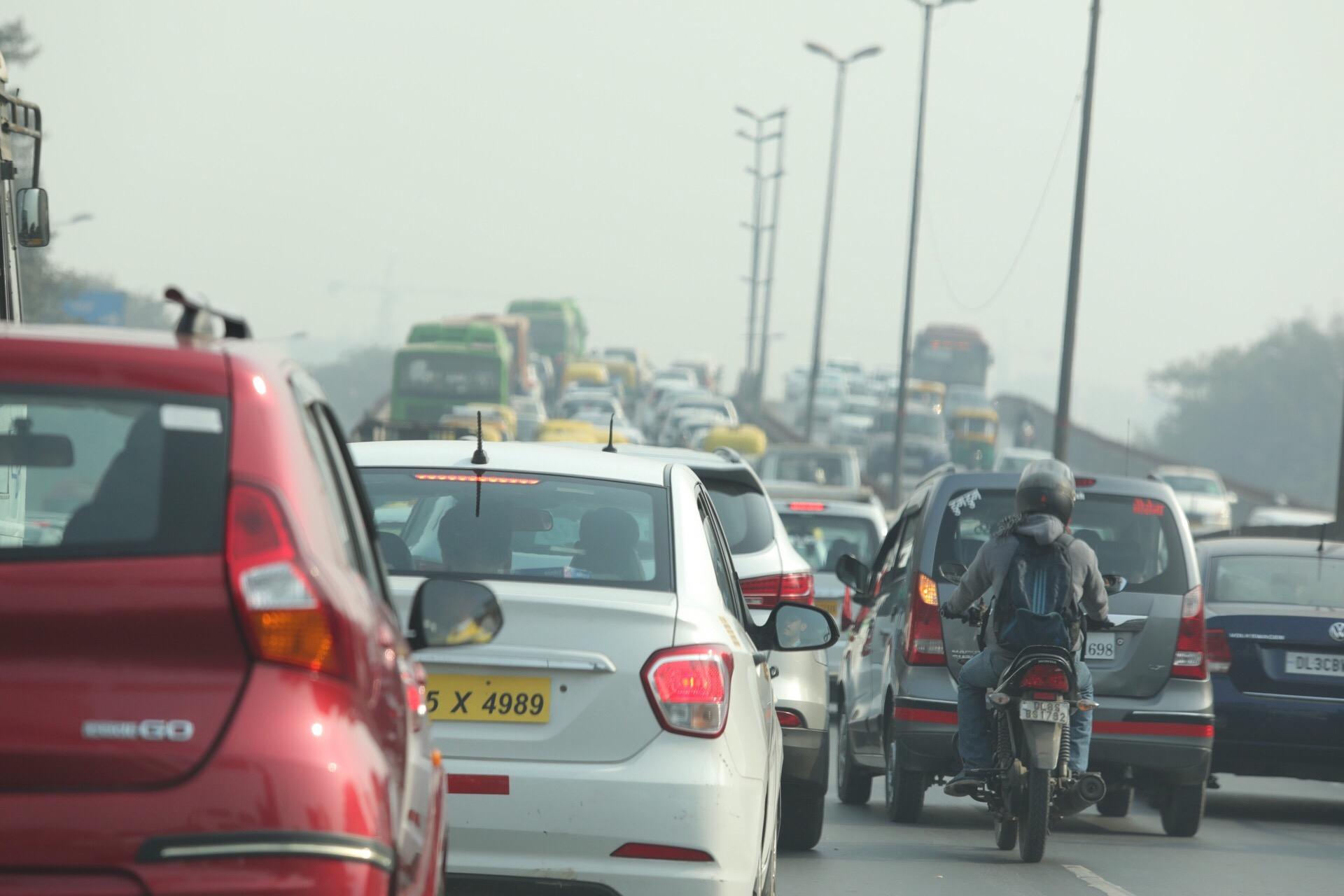 Delhi Road Chaos!