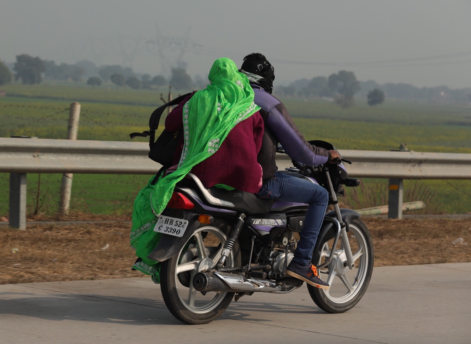Saris & bike wheels going round at 50mph can only end in tears!