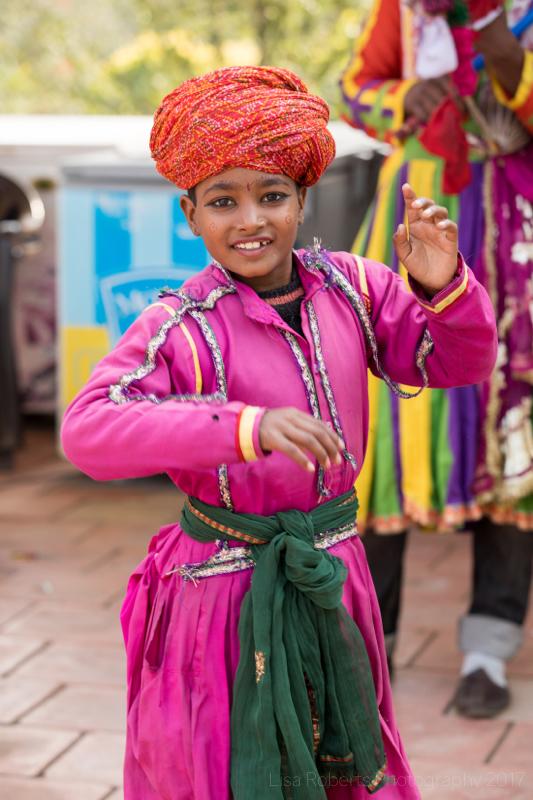 Dancing girl. Jewar, India
