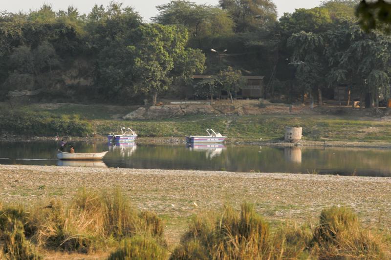Across the Yamuna River, Agra, Uttar Pradesh, India