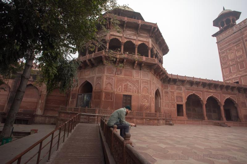 Taj Mahal mosque, Agra, Uttar Pradesh, India