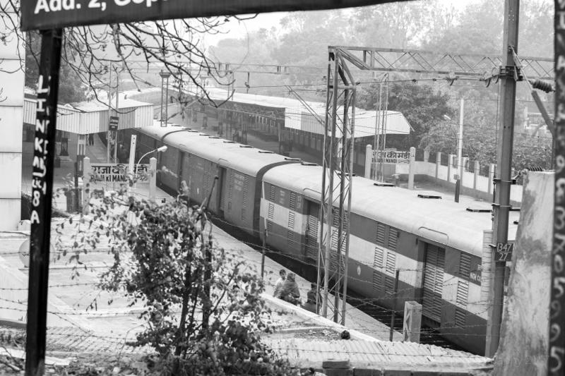Train Station, Agra, Uttar Pradesh, India