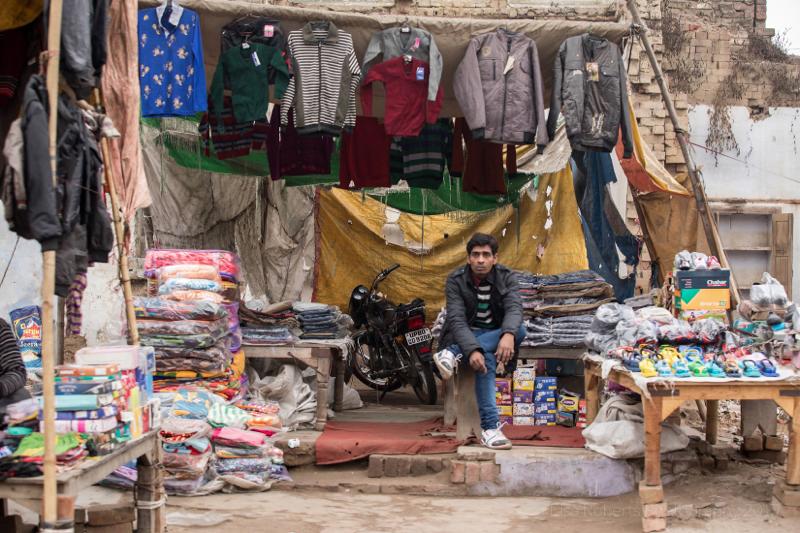 Market stall,Fruit Sellers, Agra, Uttar Pradesh, India