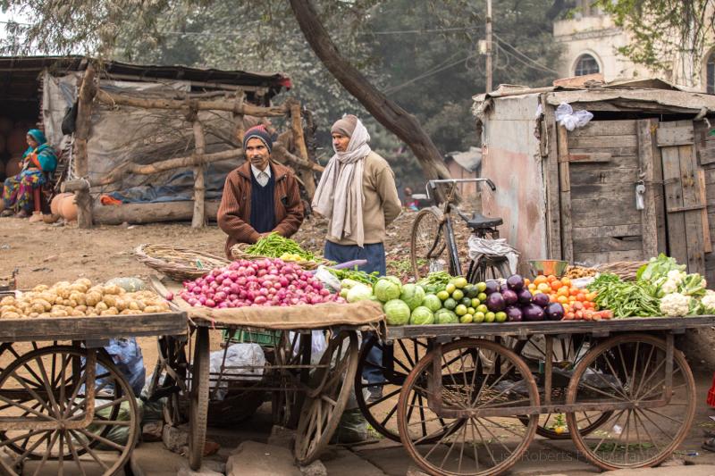 Fruit Sellers, Agra, Uttar Pradesh, India
