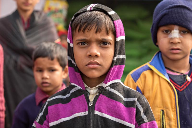 Challenging look!Curious boy,Mathura, Uttar Pradesh, India