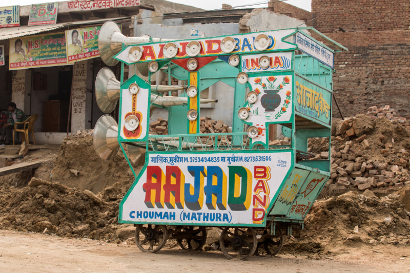 Portable Aajad Band,Overloaded!Jait, Uttar Pradesh, India