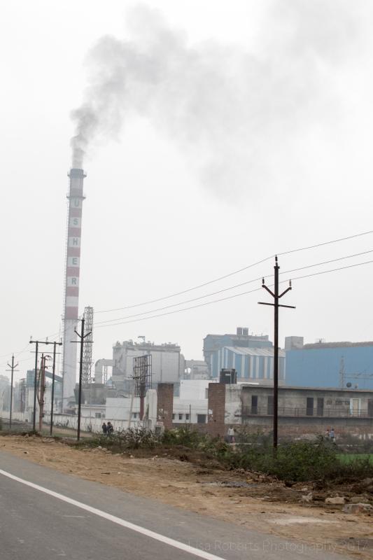 Industrial area, Chhata, India