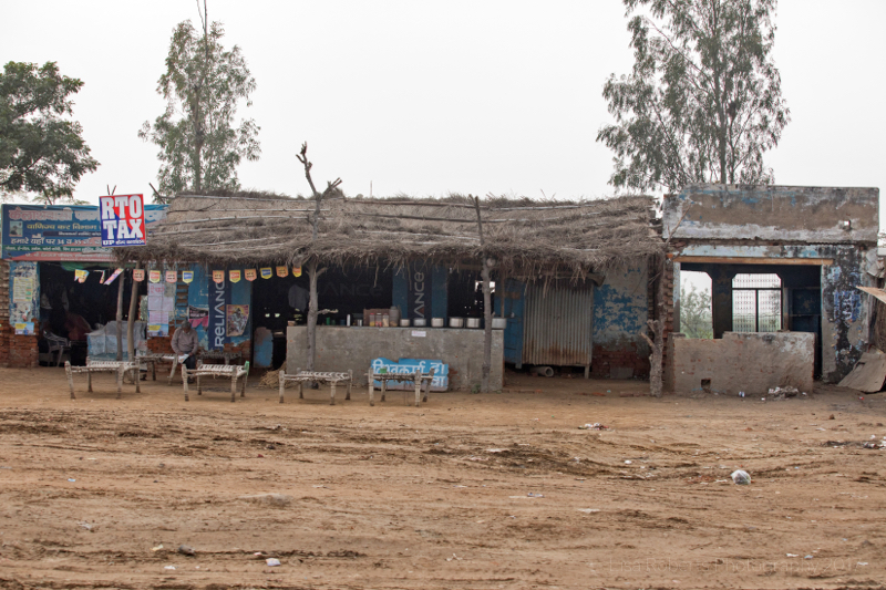 Roadside cafe, Kosi, Uttar Pradesh, India