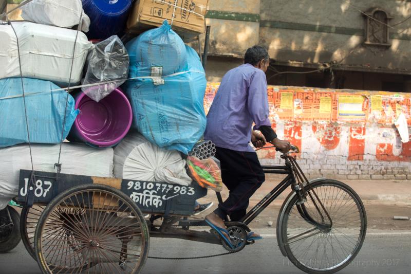 A very big load, New Delhi, India