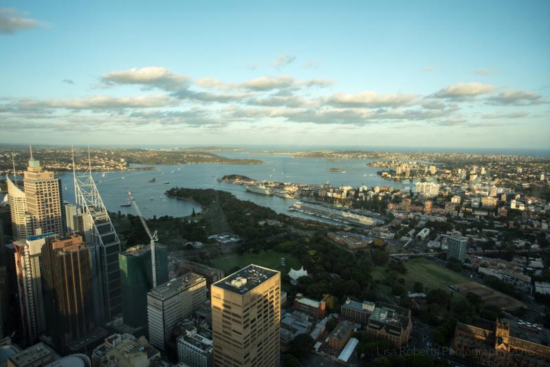 Sydney from the Eye Tower,Australia