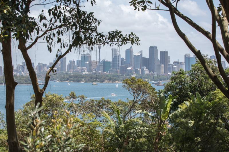 View from Taronga Zoo, Sydney,Australia