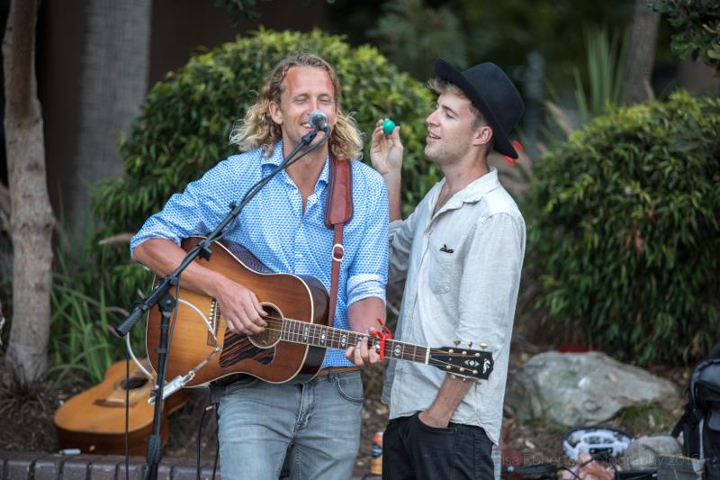 Jack Dawson & friend performing at Sydney Harbour,Australia
