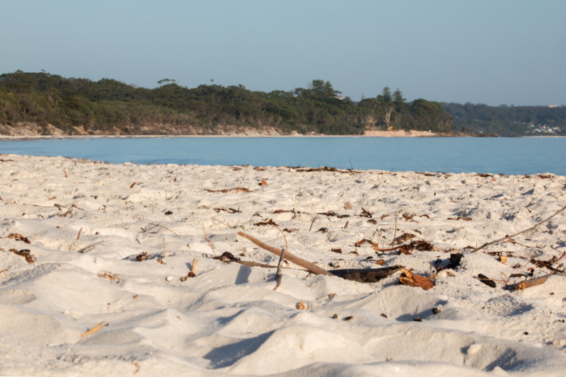 Squeaky sand! Jervis Bay, Boodereee National Park, NSW, Australia