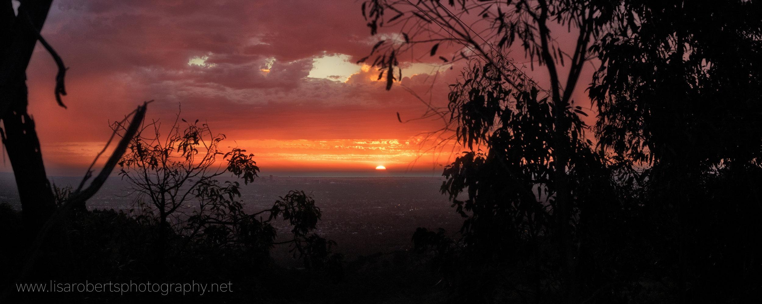 Sunset, Adelaide, South Australia