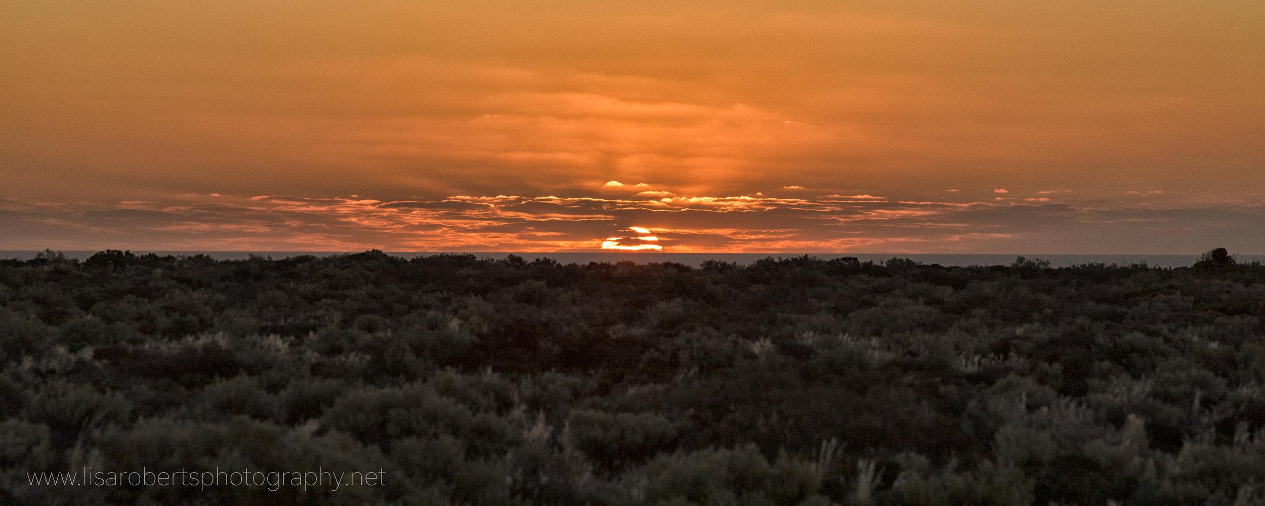 Desert Sunset, The Nullabor, South Australia