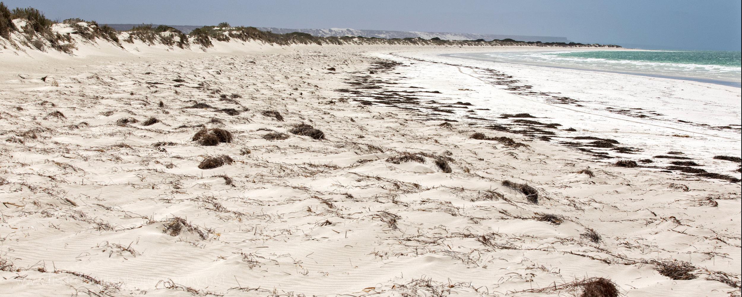 Deserted beach, Western Australia