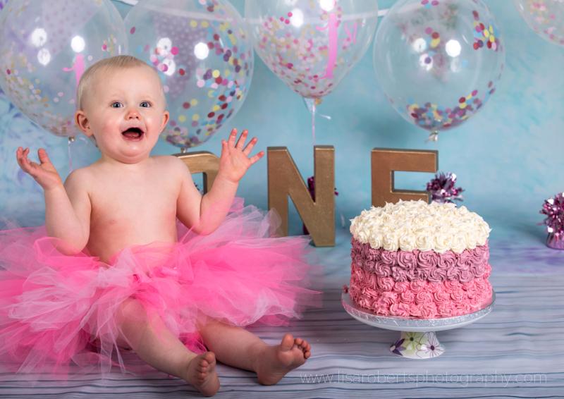 Megan's First Birthday Cake Smash